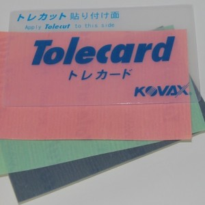 Tolecard for Tolecut Sheets